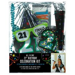 21st Brilliant Birthday Party Kit