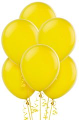 Yellow Sunshine Solid Color Latex Balloons, 72ct