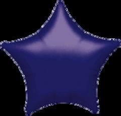 Star 26 Metallic Purple Mylar Balloon 18in