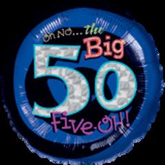 """Oh No My 50 Birthday 18"""""""