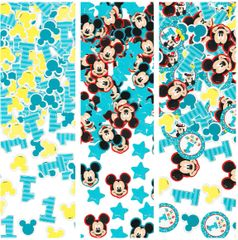©Disney Mickey's Fun To Be One Confetti