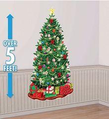 Classic Christmas Tree Scene Setters Plastic Add-Ons