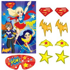 DC Super Hero Girls™ Party Game