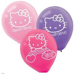 Hello Kitty Rainbow® Printed Latex Balloons