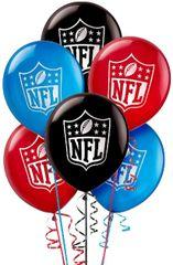 NFL Drive Printed Latex Balloons