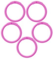 Pink Glow Bracelets, 5ct
