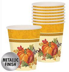 Bountiful Holiday Cups, 9 oz.