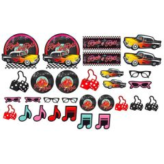 50's Mega Value Pack Cutout Assortment