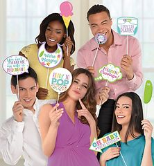 Baby Shower Photo Prop Kit, 13pc