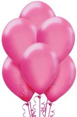 Bright Pink Latex Balloons, 72ct