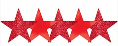 Apple Red Star Cutouts