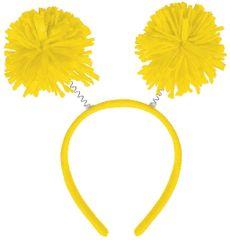 Yellow Pom-Pom Head Bopper