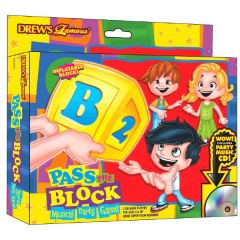 Drew's Famous Pass The Alphabet Block Game
