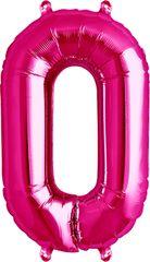 """16"""" NUMBER 0 PINK - PKG"""