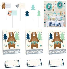 Bear-ly Wait Deluxe Buffet Decorating Kit, 23pc