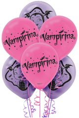 ©Disney Vampirina Latex Balloons, 6ct