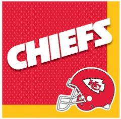 Kansas City Chiefs Luncheon Napkins, 16ct