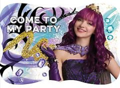 ©Disney Descendants 2 Postcard Invitations