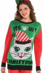 Cat Ugly Sweater - Adult S/M