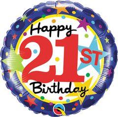 "21st Birthday Stars 18"""