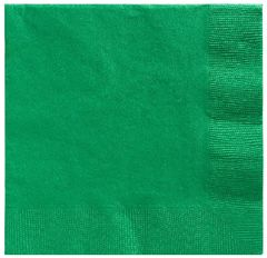 Big Party Pack Festive Green Beverage Napkins, 125ct
