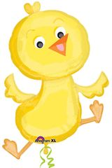 "Cute Baby Chick Super Shape Balloon 23"" x 34"""