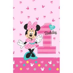 ©Disney Minnie's Fun To Be One Plastic Table Cover
