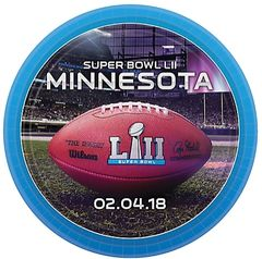 """Super Bowl LII"" Dessert Plates 8ct"