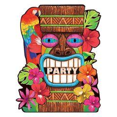 Tiki Summer Value Pack Invitations 50ct