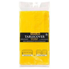 """Yellow Sunshine 3-Ply Paper Table Cover, 54"""" x 108"""""""