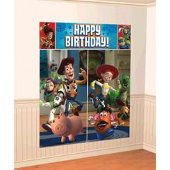 ©Disney Toy Story Power Up Scene Setters® Wall Decorating Kit