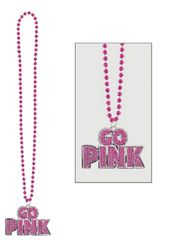 """Go Pink"" Bling Necklace"