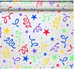 """Bright Print Cello Wrap, 16' x 30"""""""