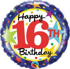 "16th Birthday Stars 18"""