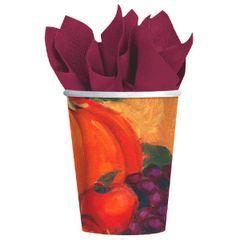 Harvest Still Life Cups, 9 oz.