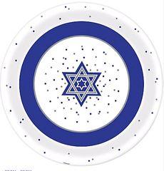 Hanukkah Round Melamine Platter