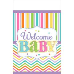 Baby Brights Plastic Tablecover