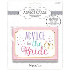 Advice for the Bride Cards