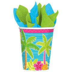 Summer Scene Cups, 9 oz.
