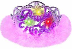 Bride To Be Tiara with Flashing Lights