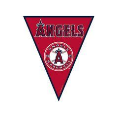 Los Angeles Angels Major League Baseball Pennant Banner