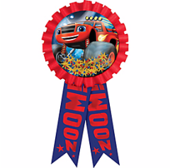Blaze and the Monster Machines™ Confetti Pouch Award Ribbon