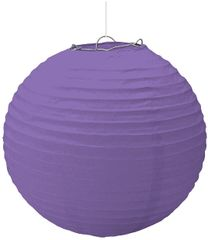 Large Purple Paper Lantern