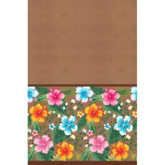Beachy Blooms All Over Printed Paper Tablecover