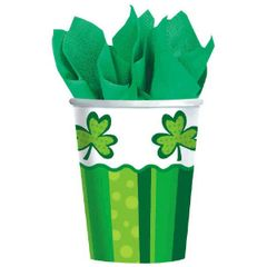 St. Patrick's Day Cheer Cups, 9 oz.