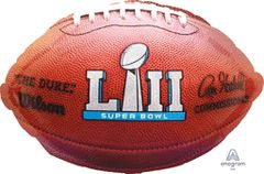 """Superbowl LII"" 2018 Football 18in"
