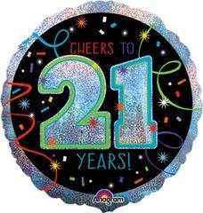 "Brilliant 21st Birthday 18"""