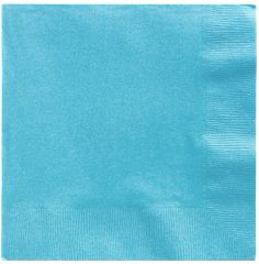 Big Party Pack Caribbean Blue Luncheon Napkins, 125ct
