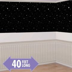 Hollywood Starry Nights Plastic Room Roll