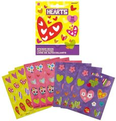 Hearts Sticker Booklet